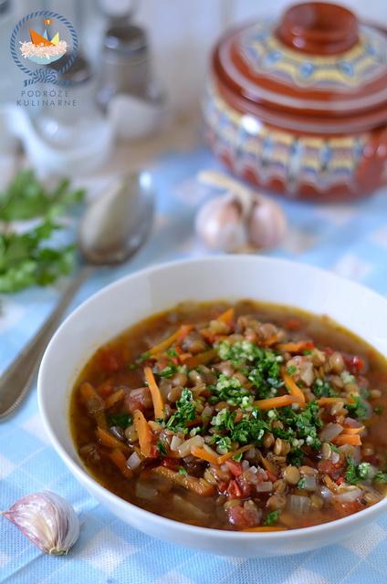 Leszta czorba – bułgarska zupa z soczewicy, Leshta chorba - bulgarian lentil soup