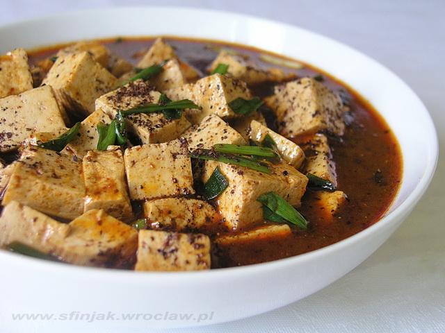 Tofu ospowatej Matki Chen – wersja wege