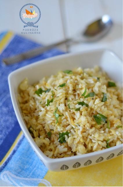 Pchali z ryżu i porów po guryjsku, Rice and leeks pchali Guria style