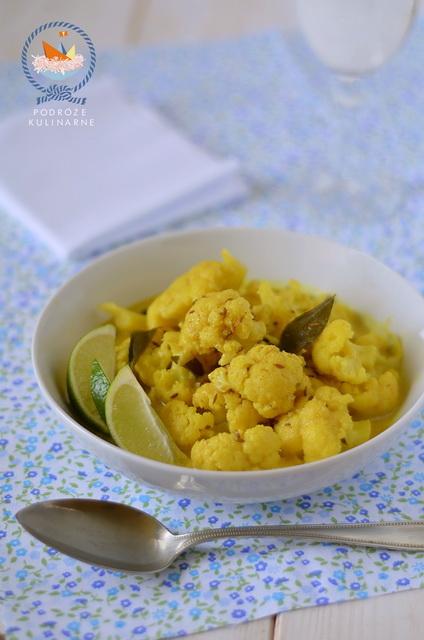 Curry z kalafiora, Cauliflower curry