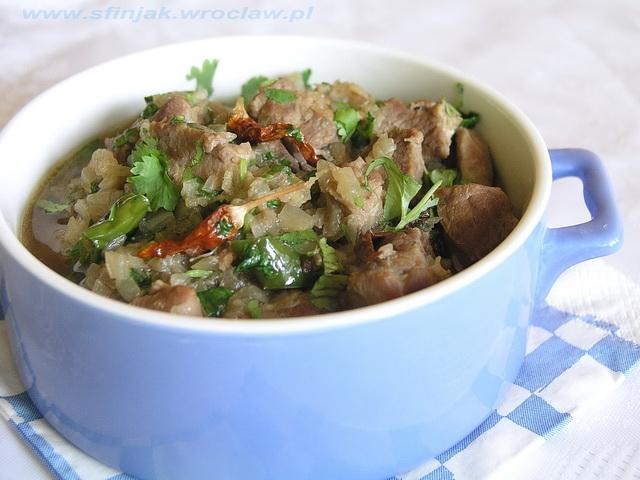 Jagnięcia khara masala
