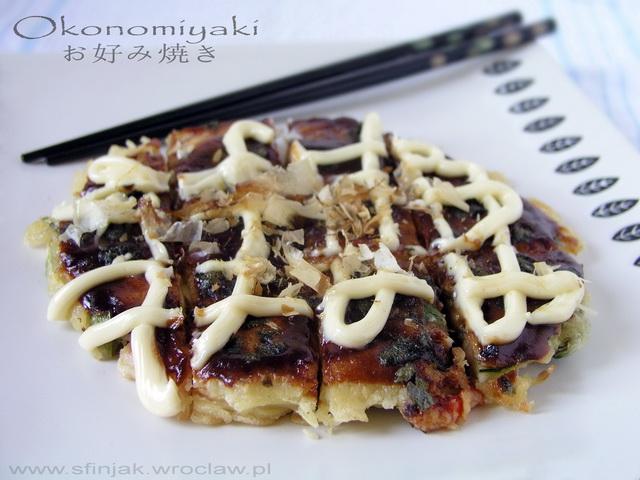Okonomiyaki - japoński naleśnik, Okonomiyaki - japanese pancake