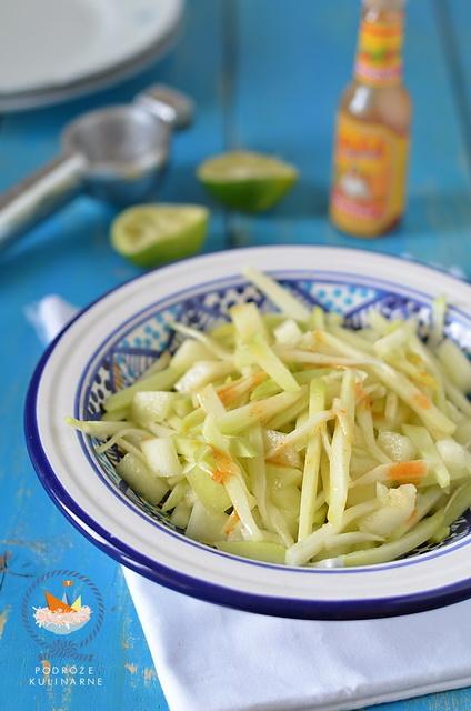 Salsa z chayote i melona, Chayote and melon salsa