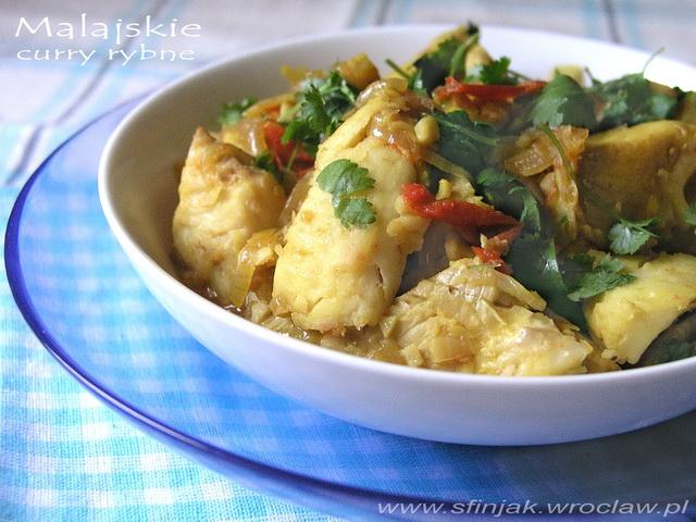 Malajskie curry rybne,Malaysian fish curry