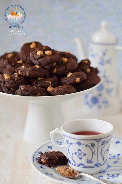 Ciastka czekoladowe z kropelkami Reese's, Chocolate Reese's cookies
