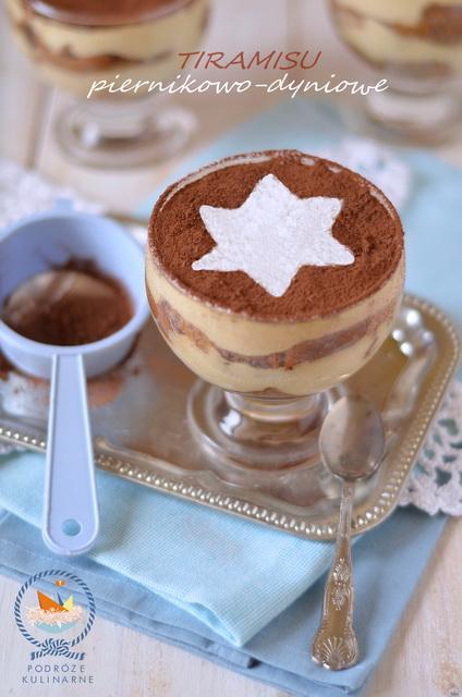Piernikowo-dyniowe tiramisu, Gingerbread and pumpkin tiramisu
