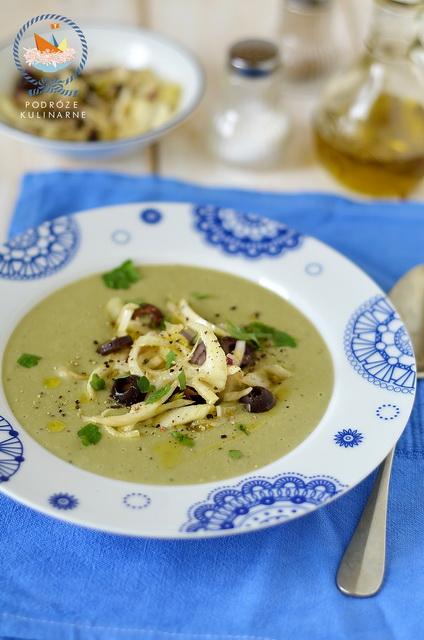 Sycylijski krem z bobu, Sycylian broad bean soup