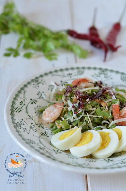 Sałatka z głąbigroszku, Winged bean salad