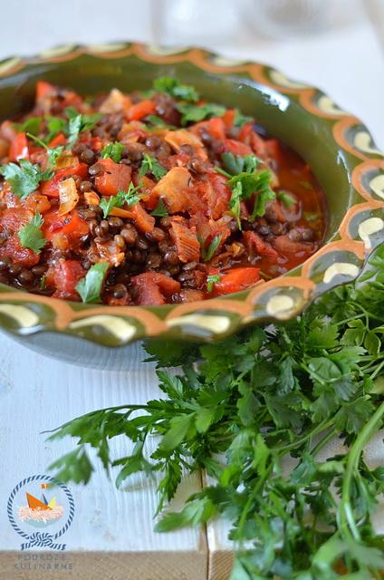 Gulasz z soczewicy, Lentil stew