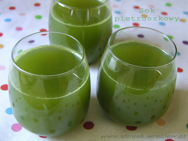 Sok pietruszkowy, parsley juice