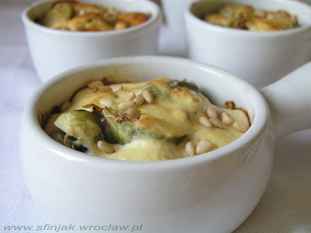 Suflet z brukselki, Brussels sprouts souffle