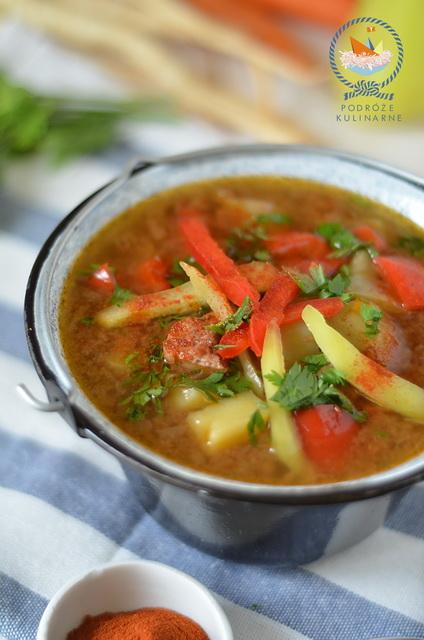 Zupa gulaszowa, Hungarian goulash soup