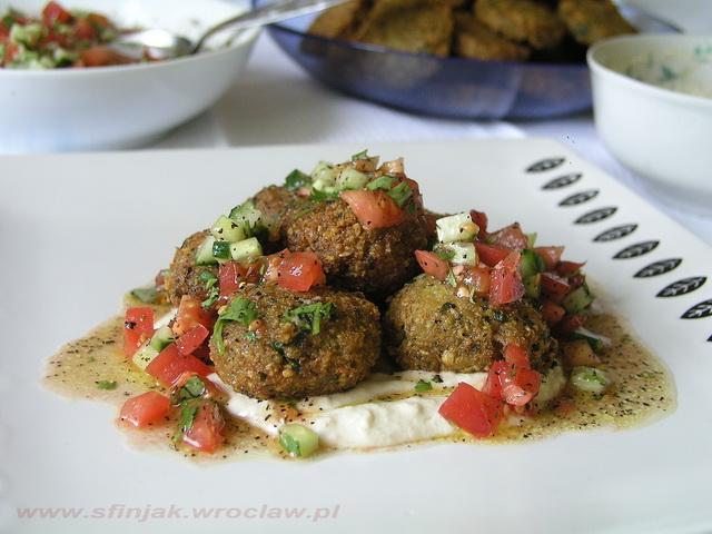 Podroze Kulinarne Falafel Z Dwoma Sosami